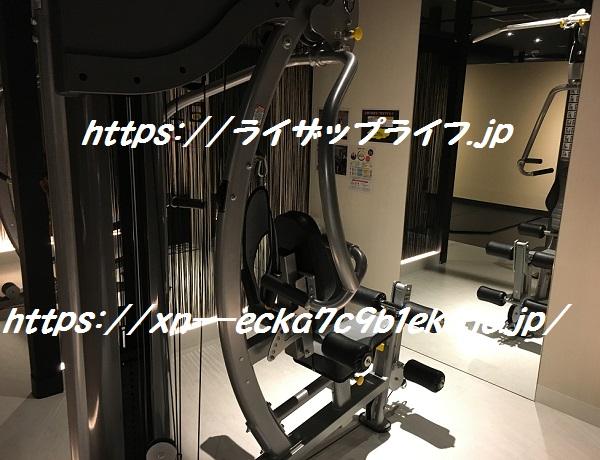 ライザップ上野店のマシンルーム