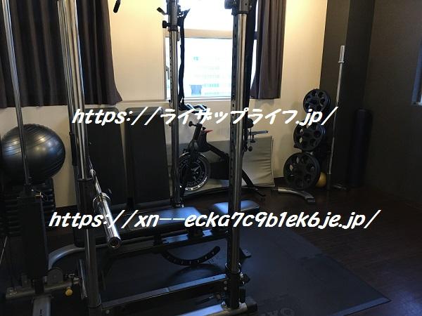 ライザップ名古屋栄店のセッションルーム