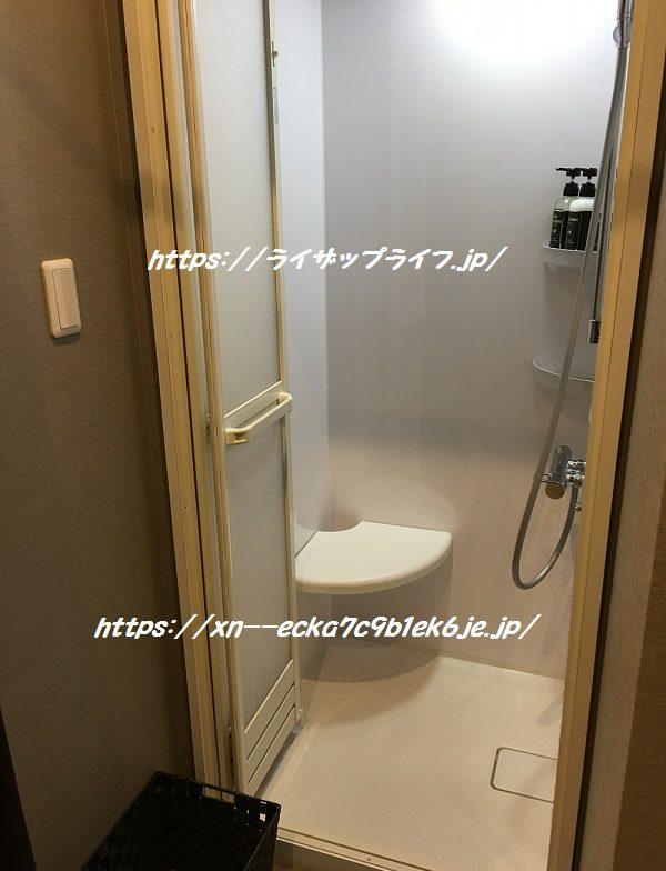 ライザップ本川越店のシャワールーム