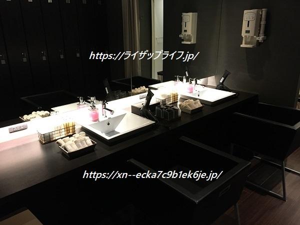 ライザップ横浜西口店の洗面台